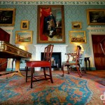 The Blue Drawing Room of Culzean Castle, Ayrshire, Scotland. September 19, 2014.