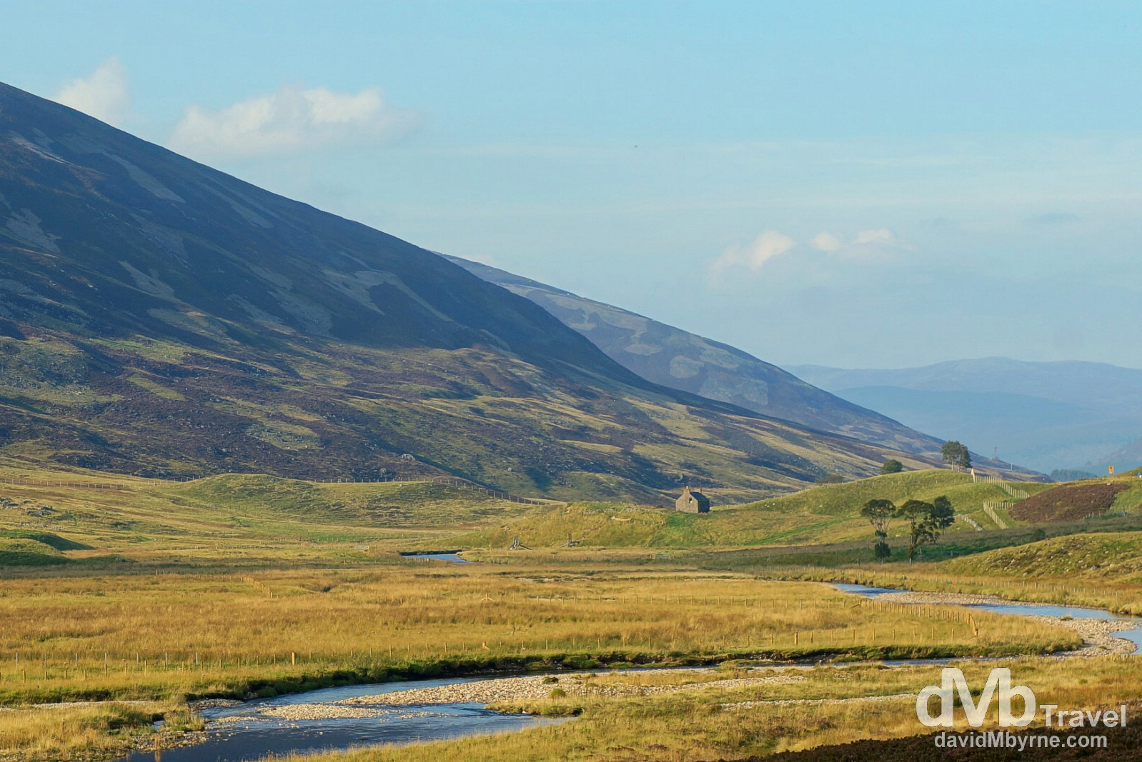 Scenery in Cairngorms National Park, Scotland. September 13, 2014.