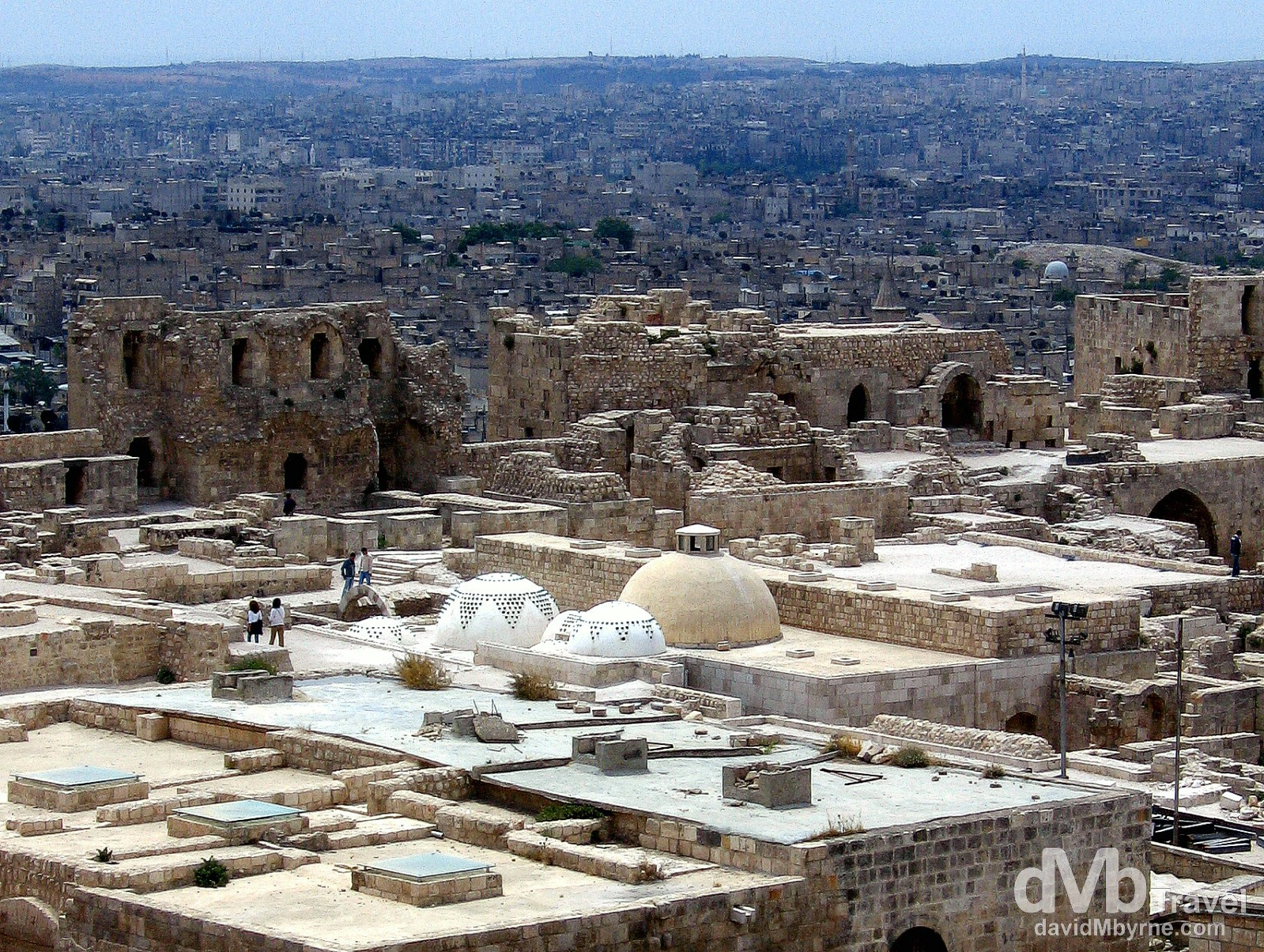A section of the fort in Aleppo, Syria. May 9, 2008.