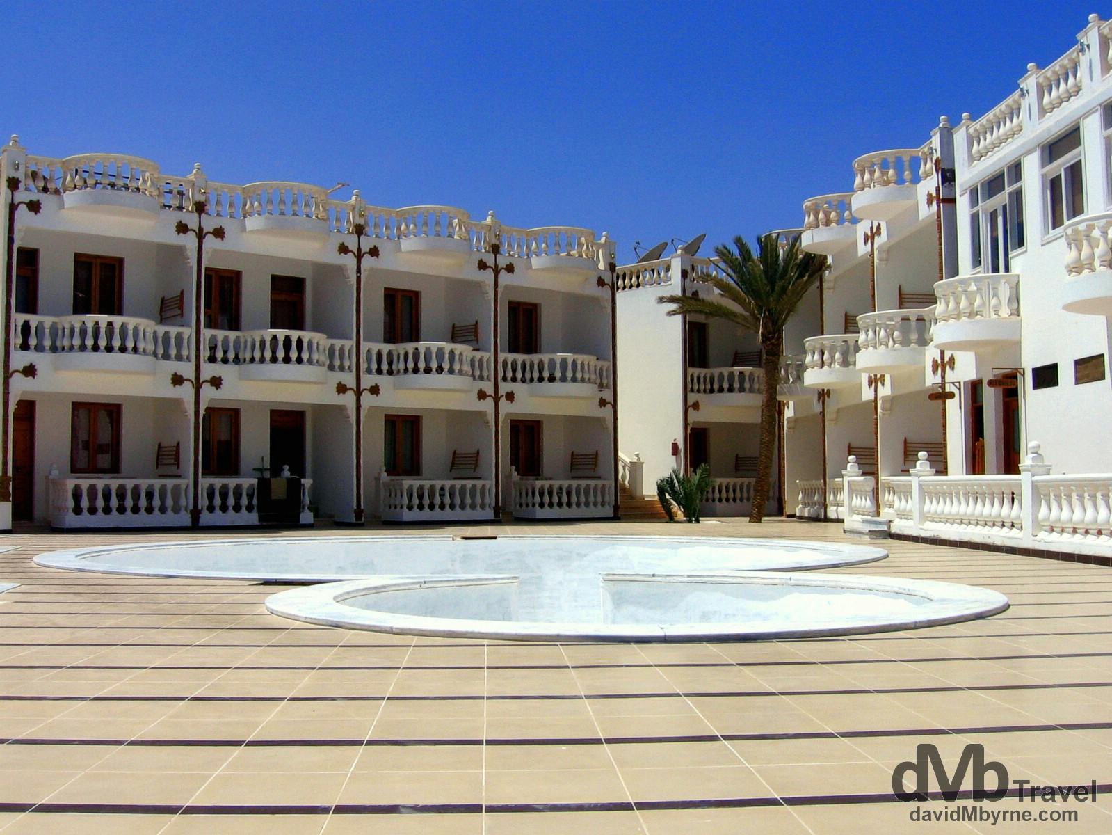 New accommodations in Dahab on the Sinai Peninsula, Egypt. April 19, 2008.
