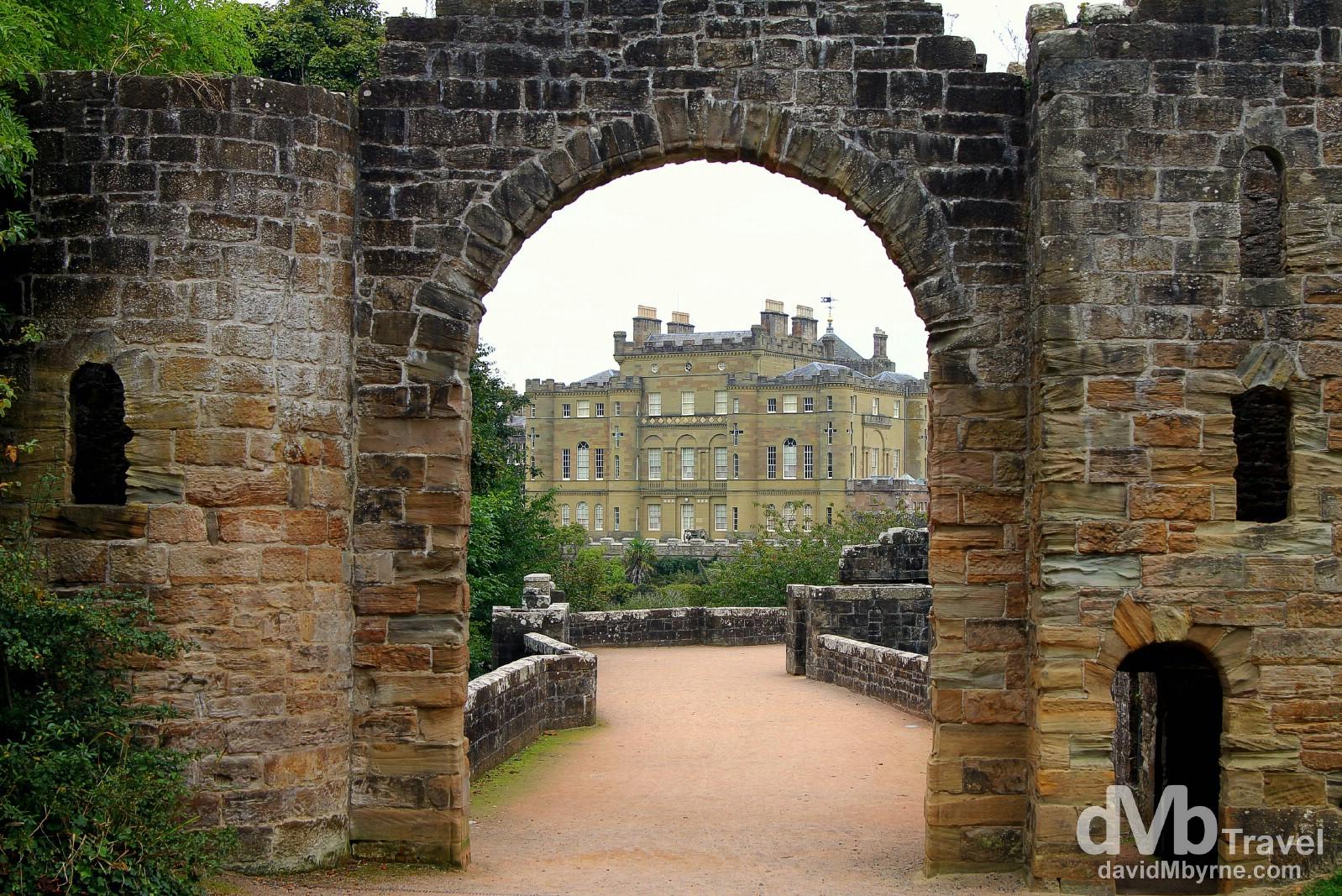 Culzean Castle, Ayrshire, Scotland. September 19, 2014.