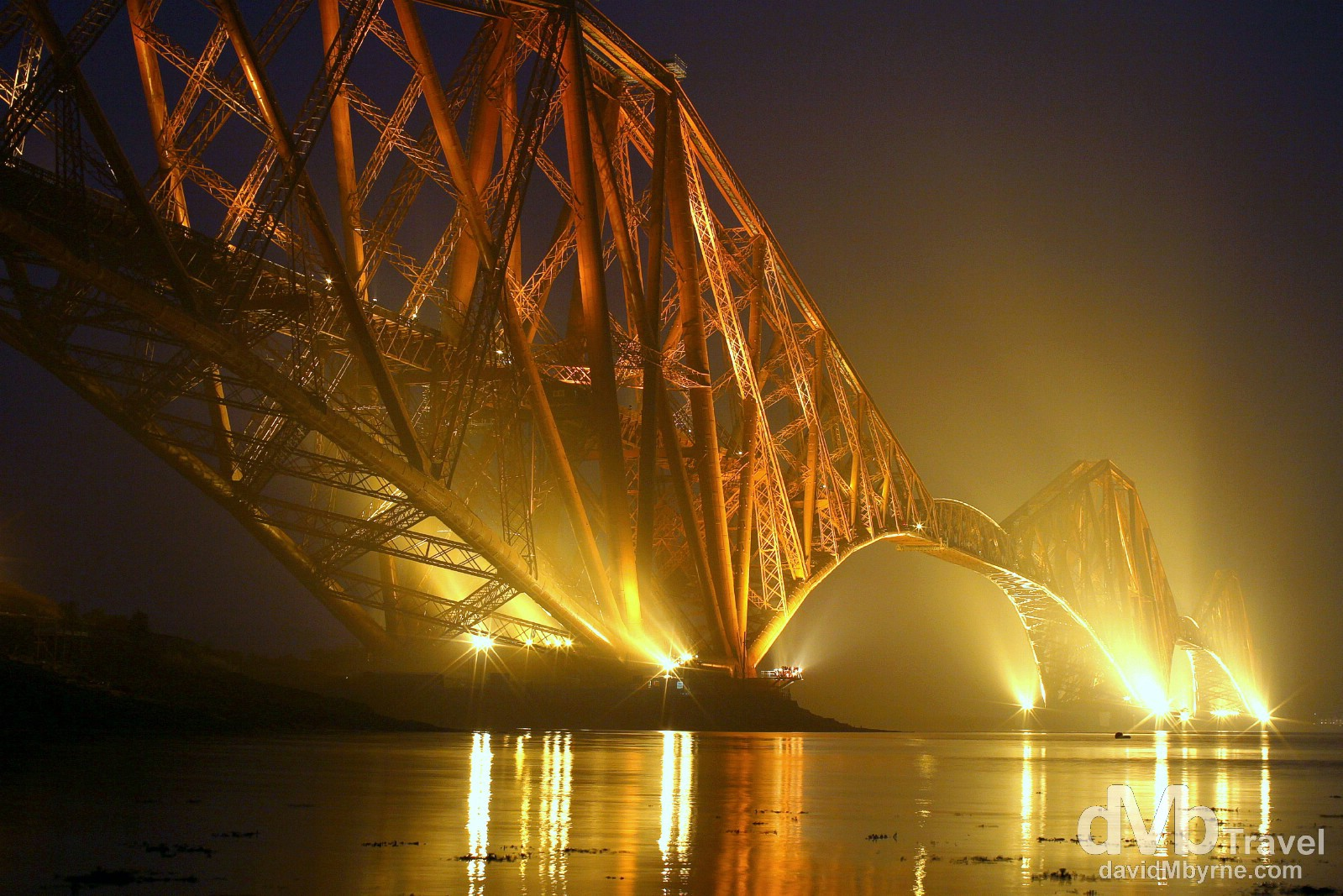 Forth Rail Bridge crossing the Firth of Forth, Scotland. September 12, 2014.