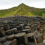 The Giant's Causeway, Causeway Coast, Co. Antrim, Northern Ireland. August 25, 2014.