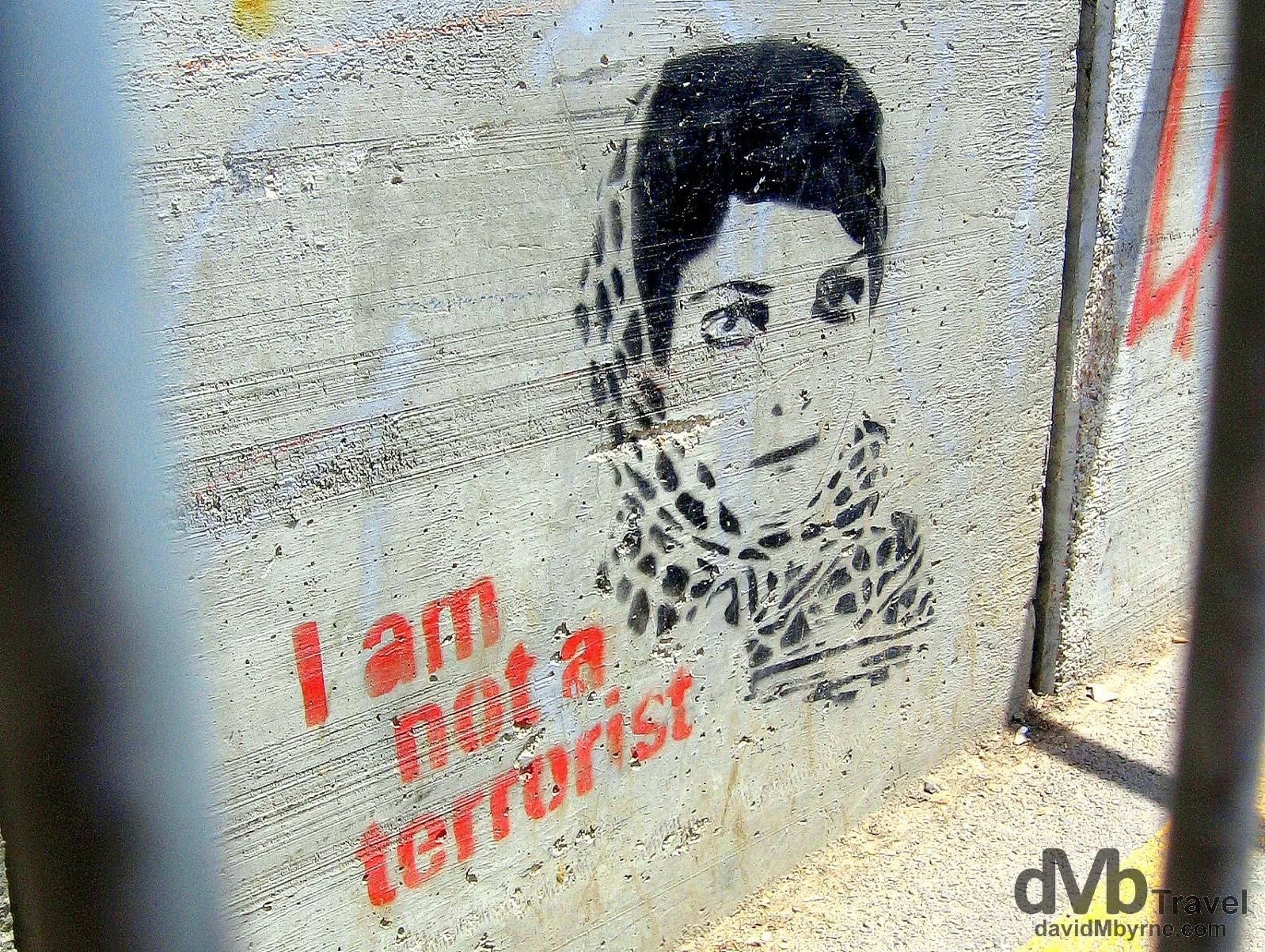 Israel-West Bank Barrier Art & Israel-West Bank Barrier Art - Worldwide Destination Photography ...