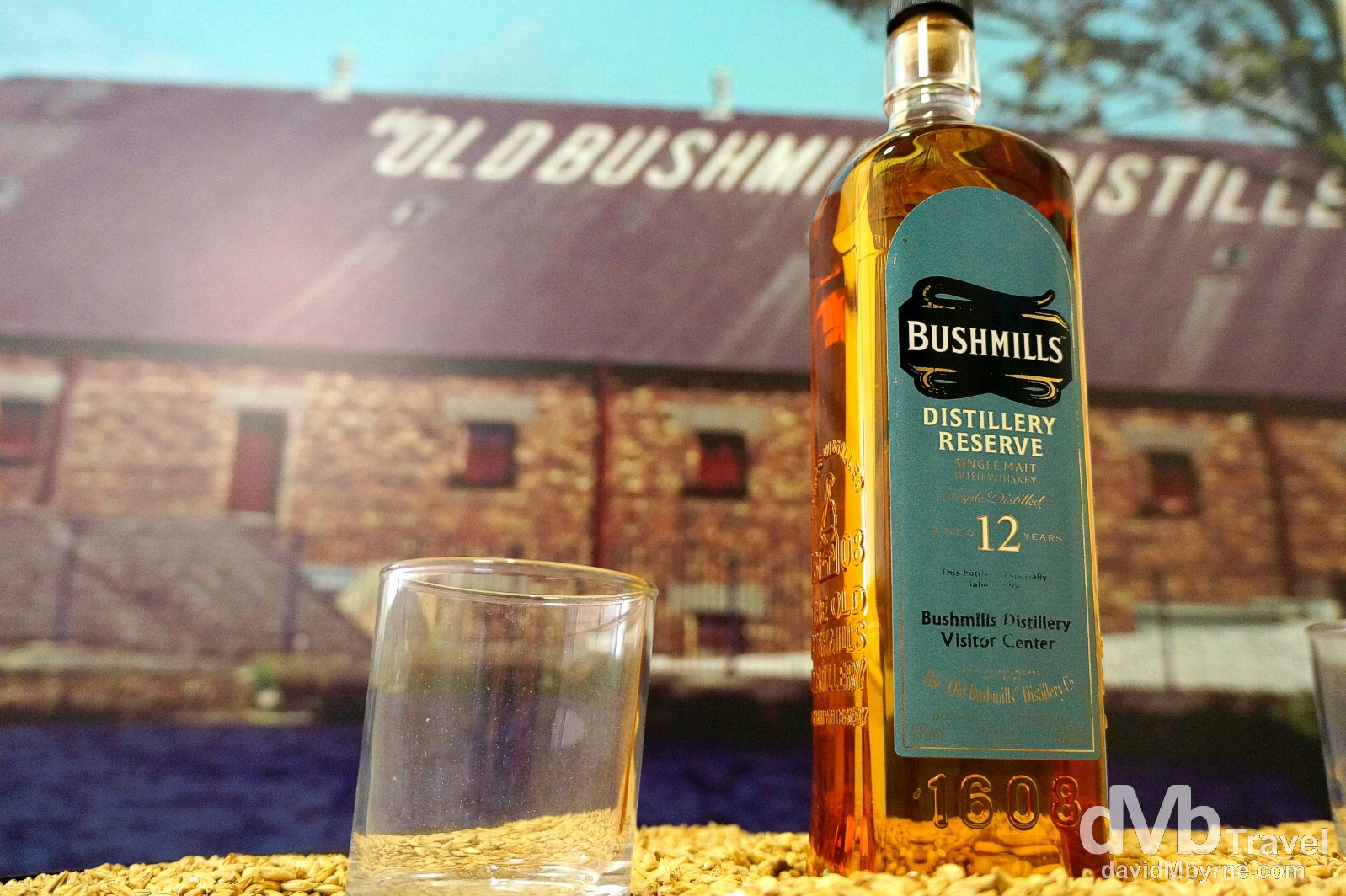 Old Bushmills Distillery, Bushmills, Co. Antrim, Northern Ireland. August 25, 2014.