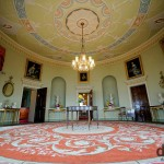 The Round Drawing Room of Culzean Castle, Ayrshire, Scotland. September 19, 2014.