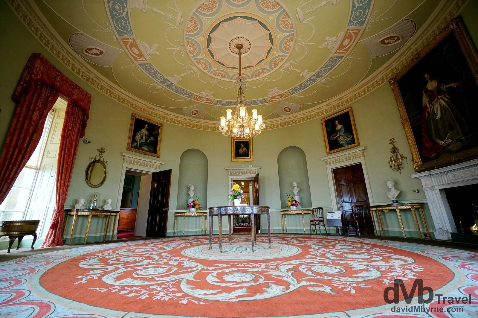 Round Drawing Room Culzean Castle Worldwide Destination