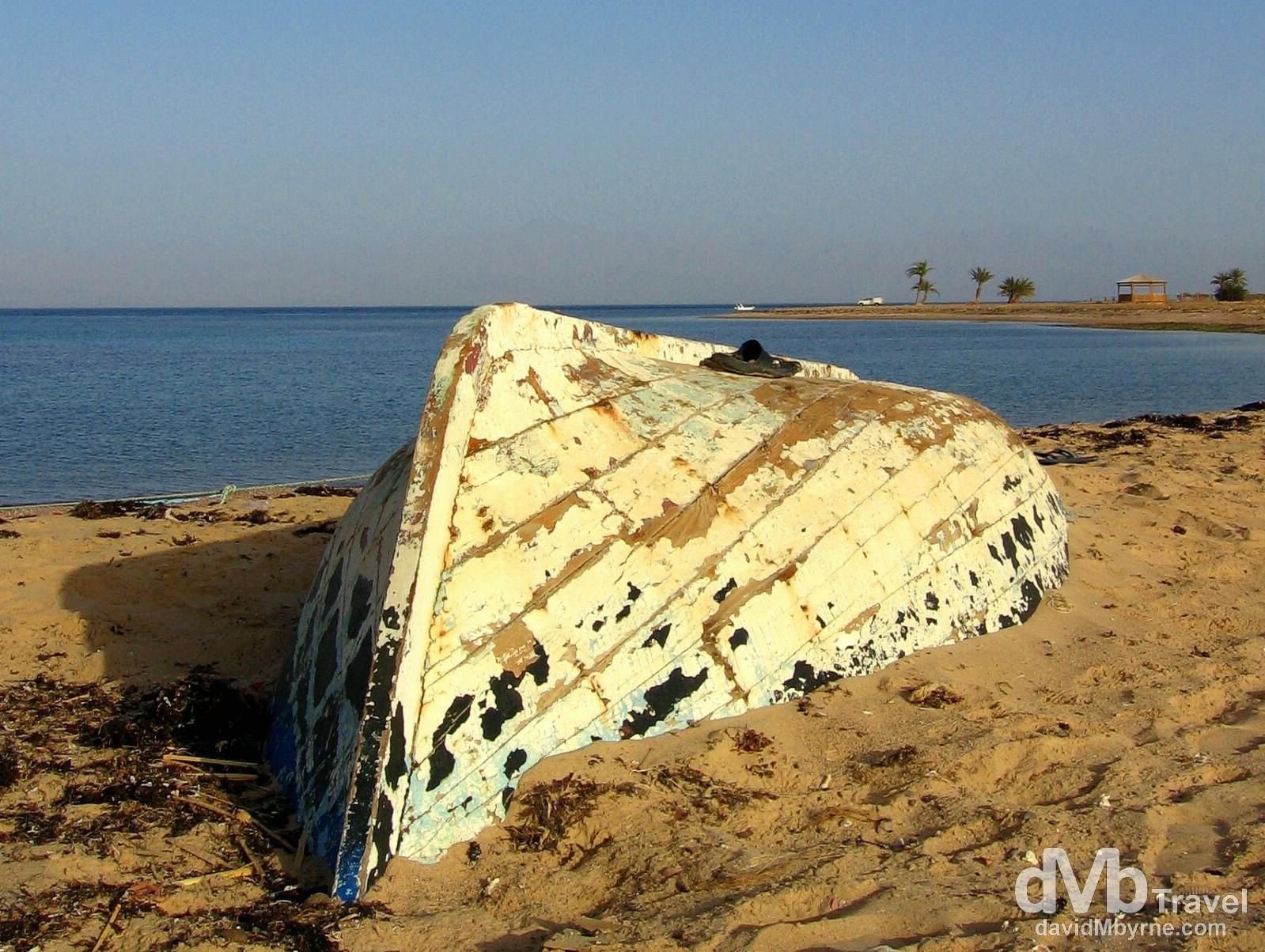 Soft Beach Camp, Nuweiba, Sinai Peninsula, Egypt. April 23, 2008.