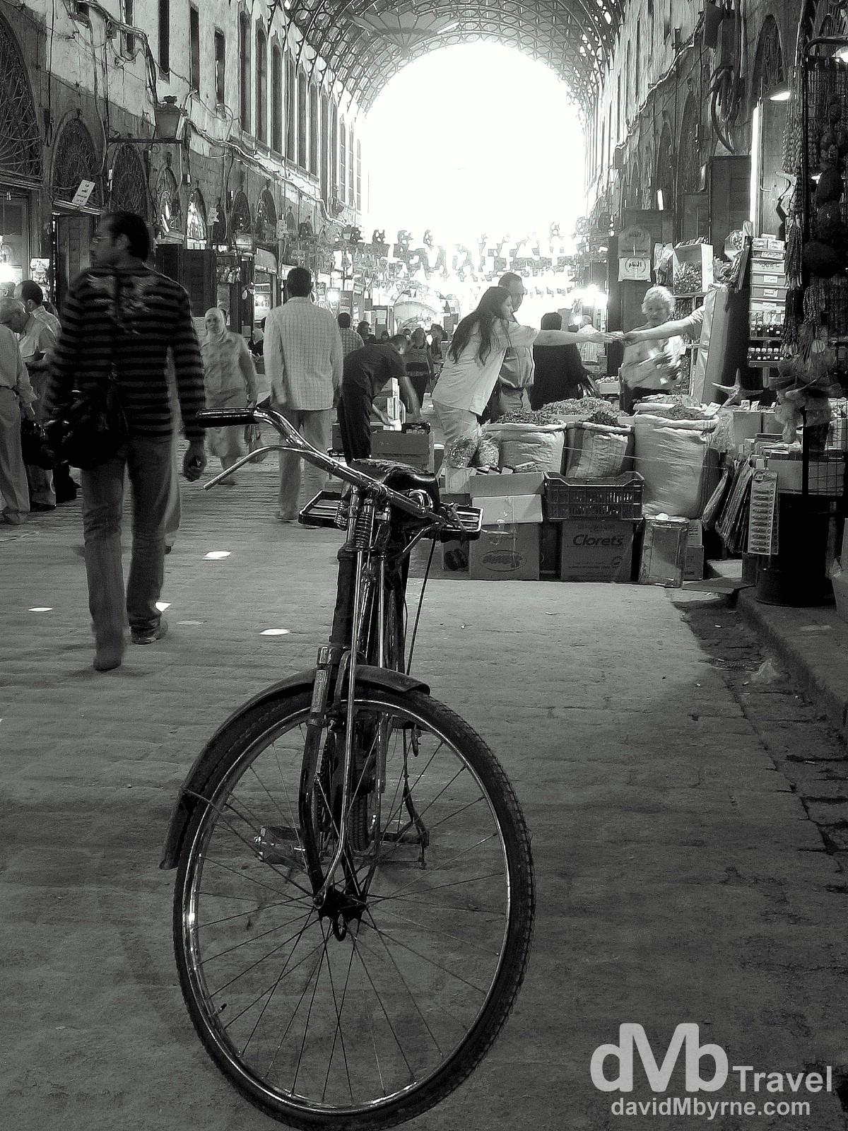 Al-Hamidiyah Souq, Damascus, Syria. May 4, 2008.