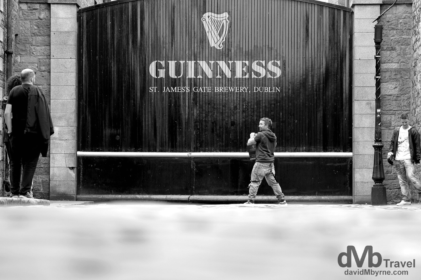 St. Jame's Gate, the home of Guinness. Dublin, Ireland. September 1, 2014.