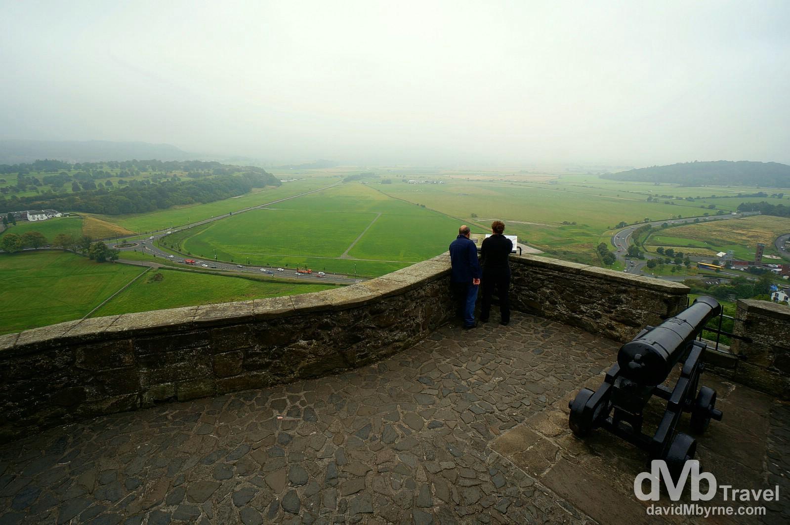 Ladies' Lookout of Stirling Castle, Stirling, Scotland. September 12, 2014.