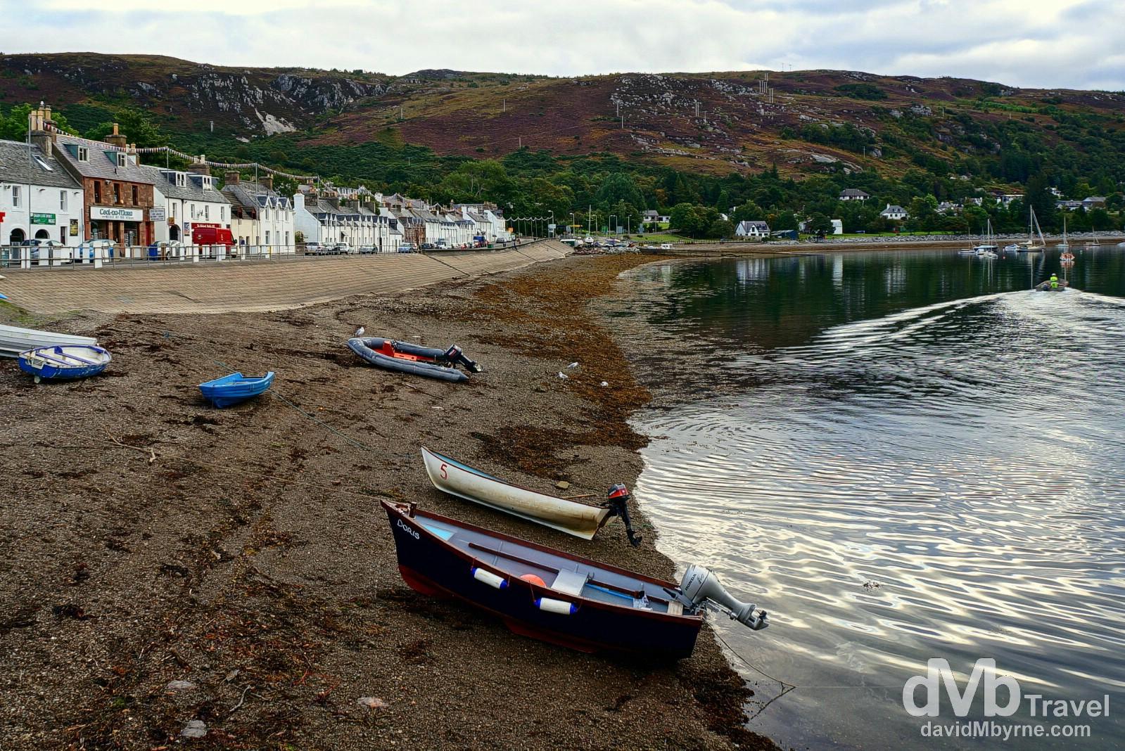 Ullapool, Highlands, Scotland. September 16, 2014.