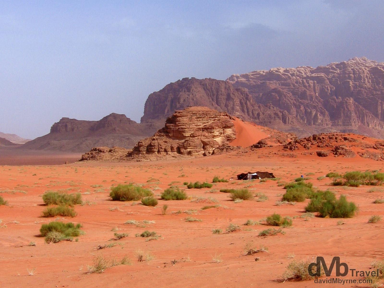 Wadi Rum, Jordan. April 26, 2008.