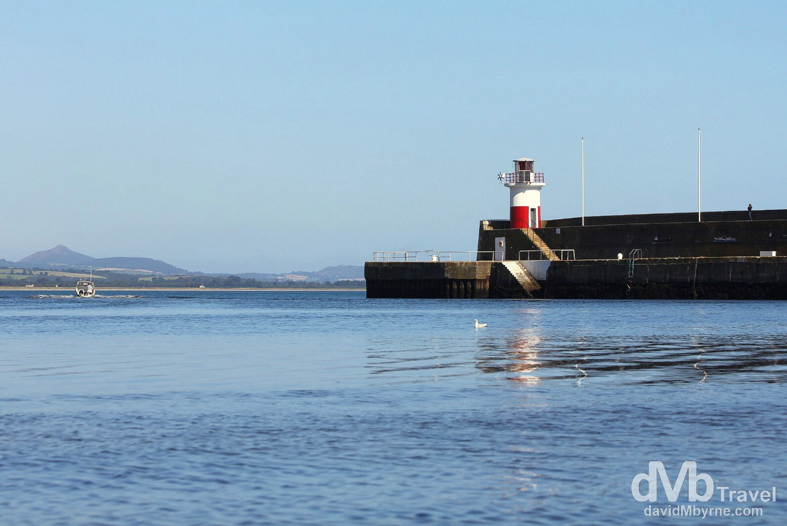 Wicklow Harbour, Co. Wicklow, Ireland. August 31, 2014.
