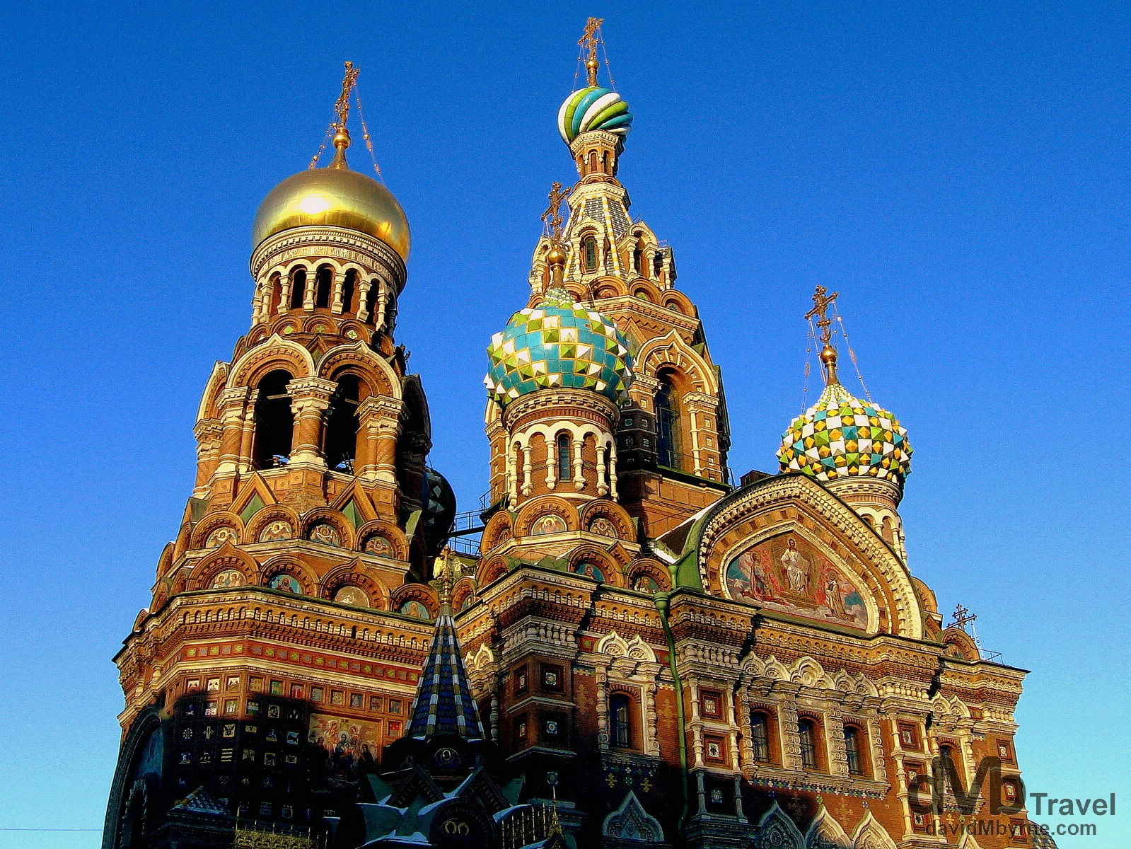 Church of the Savior on Spilled Blood, St. Petersburg, Russia. February 27, 2006.