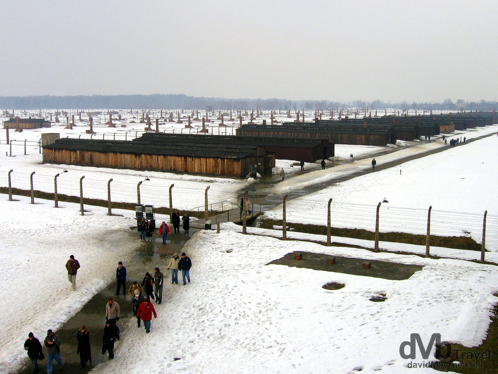 Birkenau Concentration Camp, Brzezinka, Poland. March 7, 2006.