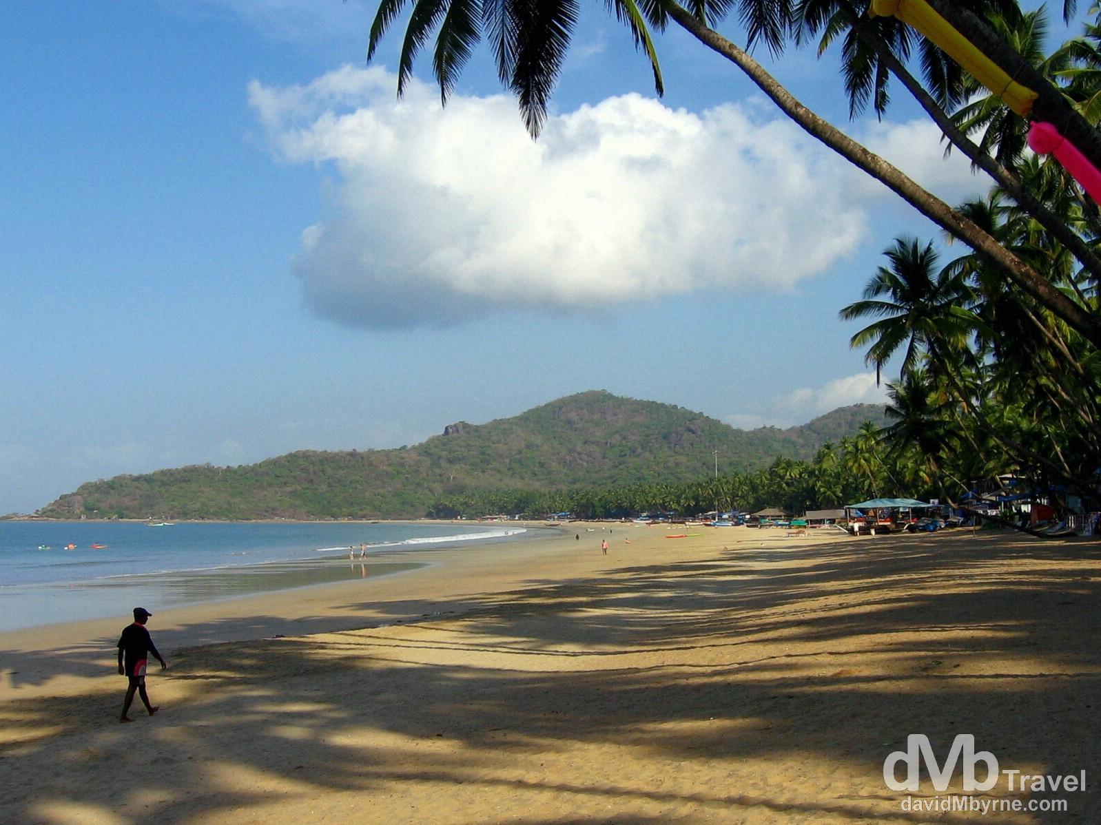 Palolem Beach, Goa, India. March 29, 2008.