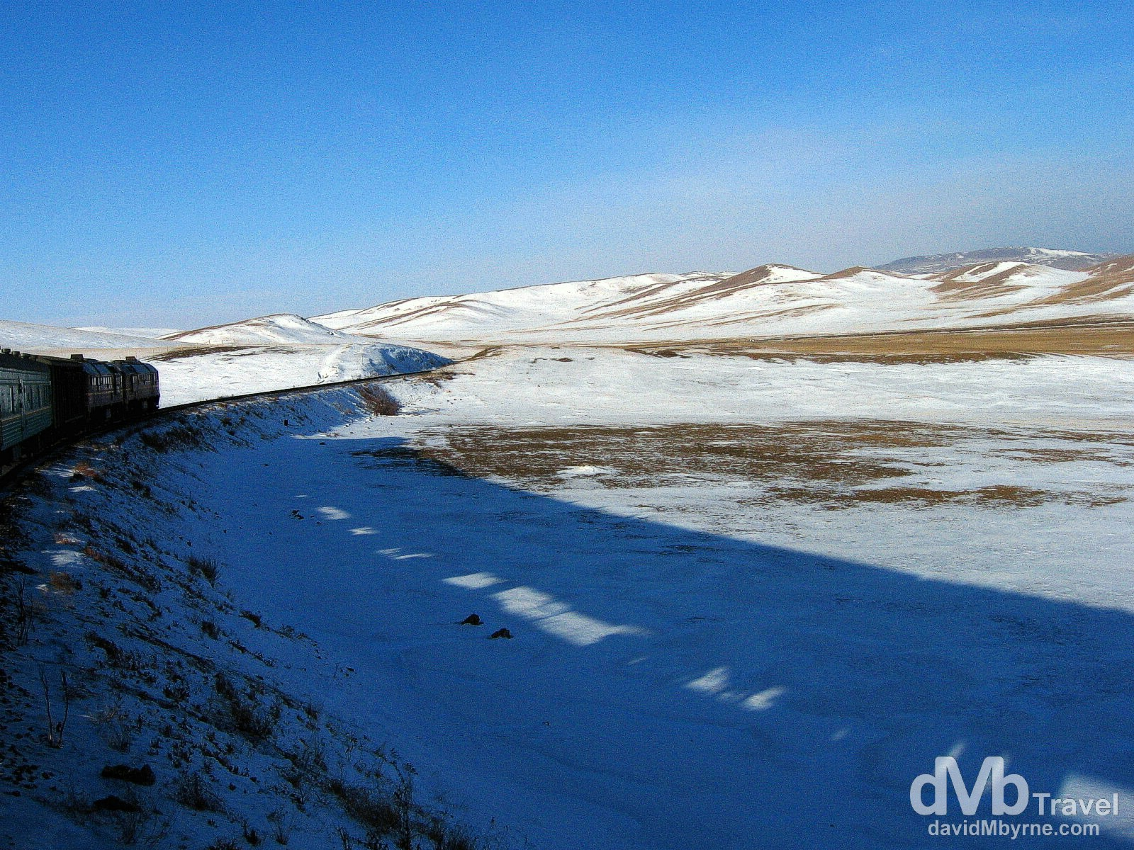 Hohhot, China, to Ulan Bator, Mongolia (2006) || Riding The Rails