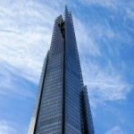 The 309-metre tall Shard, one of the newest towers on the London skyline and the tallest building in the EU. London, England. December 12, 2014.