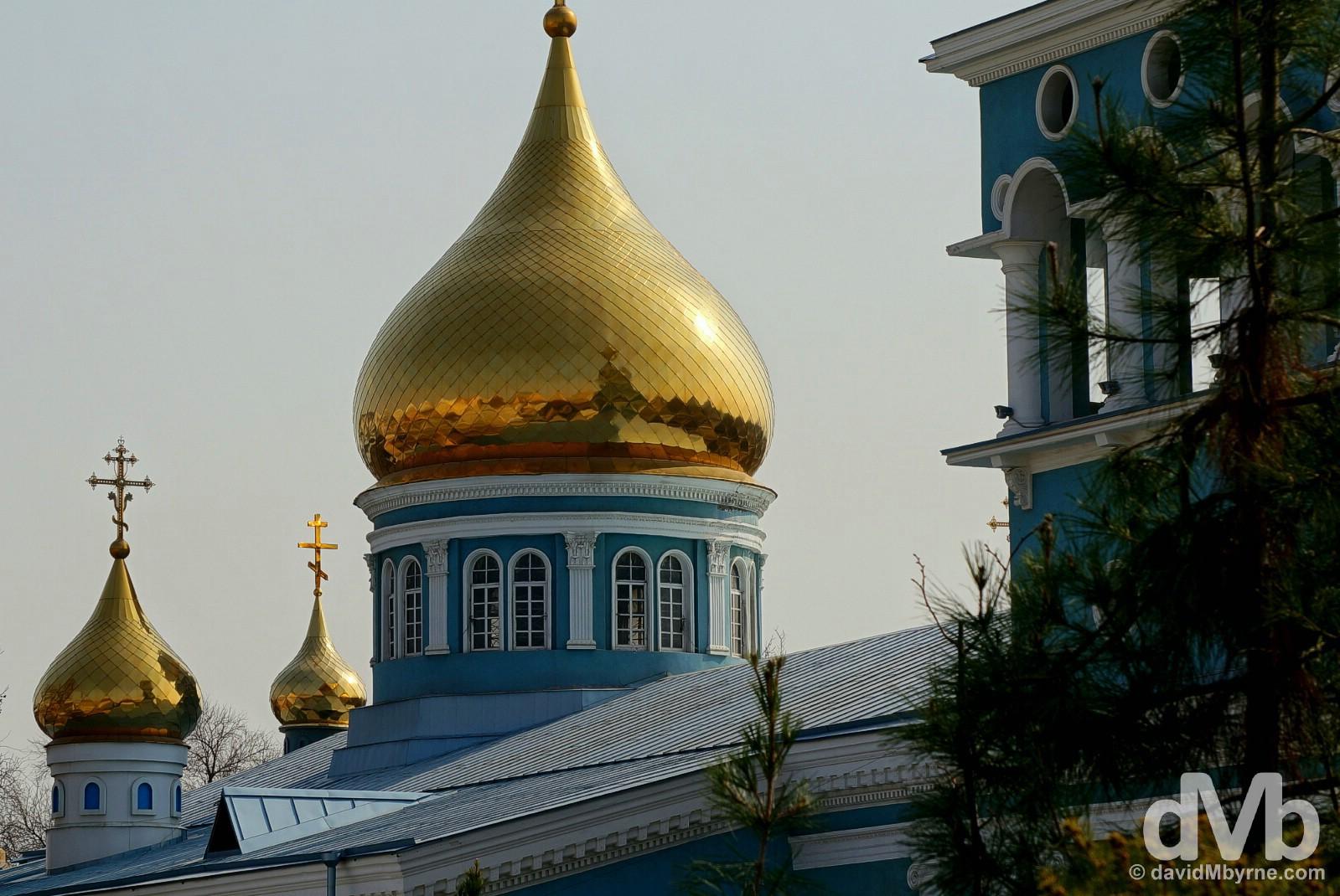 Assumption Cathedral in Tashkent, Uzbekistan. March 5, 2015.
