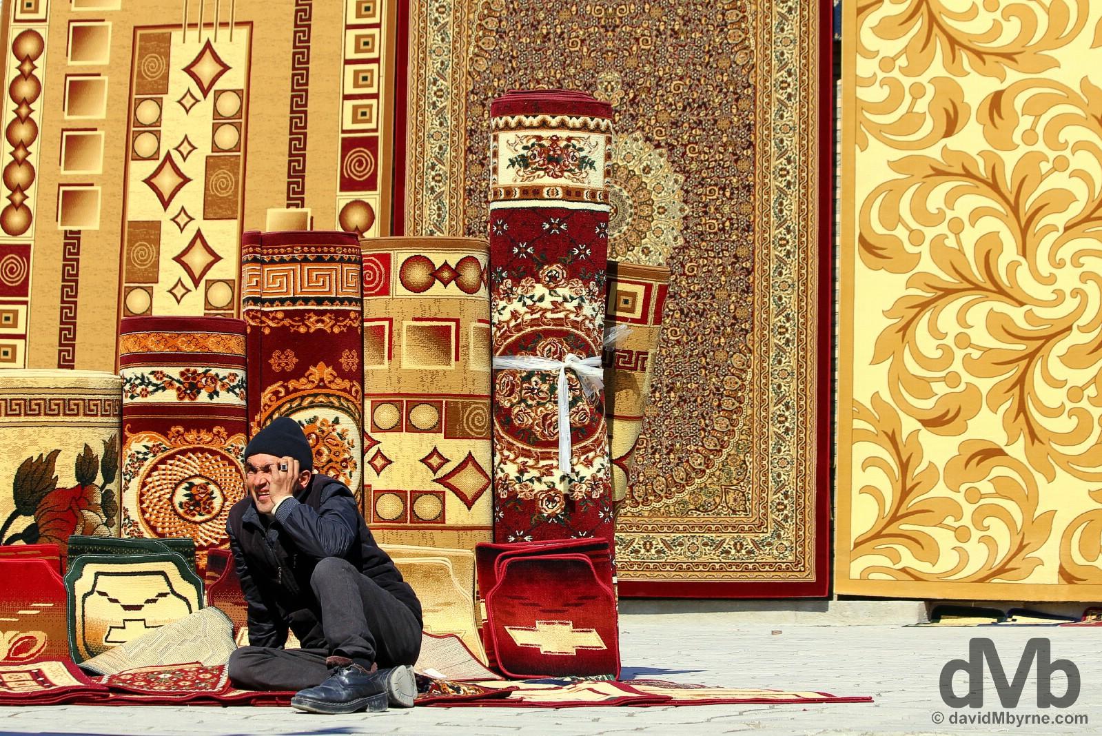 Shahriston Market, Bukhara, Uzbekistan. March 11, 2015.
