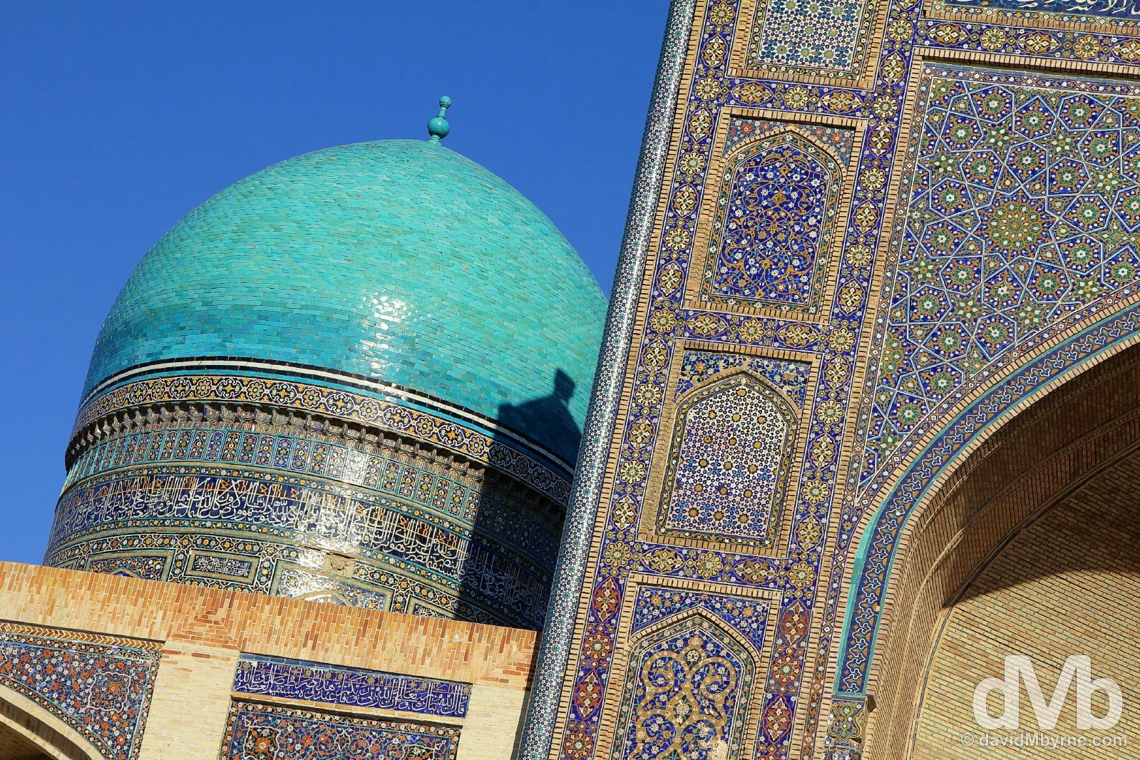 Mir-i-Arab Medressa, Bukhara, Uzbekistan. March 11, 2015.