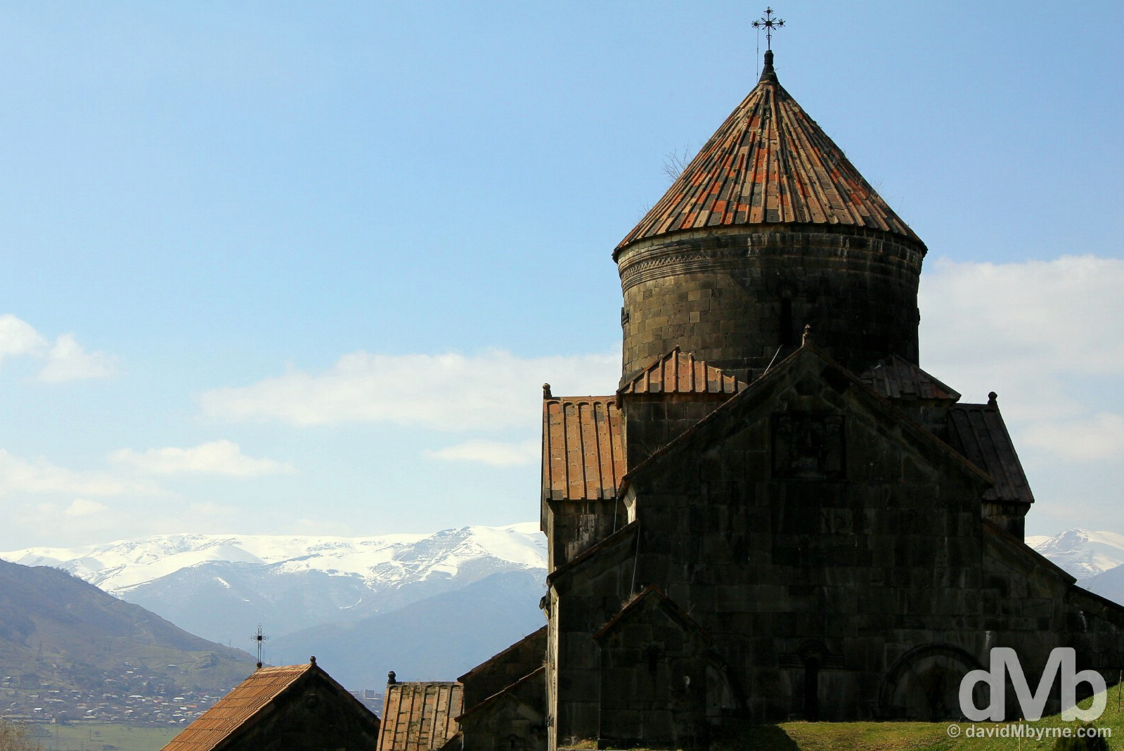 Haghpat Monastery in Lori Marz, Armenia. March 26, 2015.
