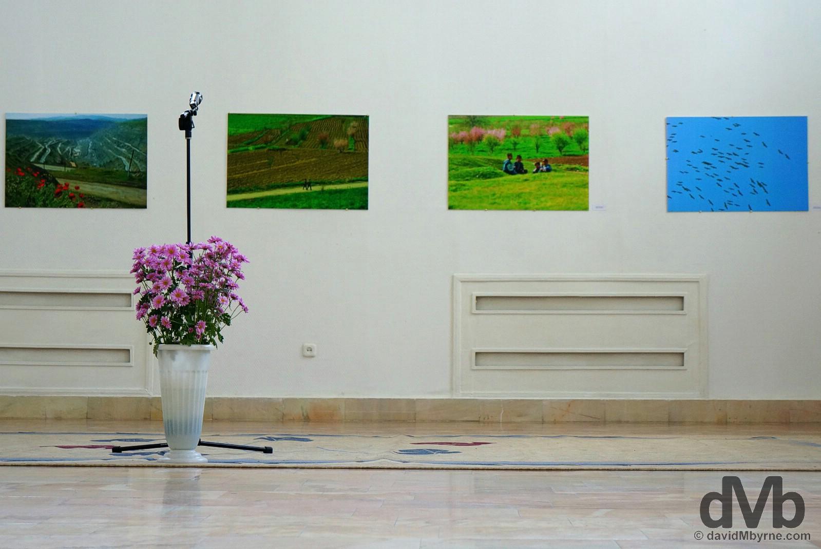 House of Photography of the Academy of Arts of Uzbekistan in Tashkent, Uzbekistan. March 17, 2015.
