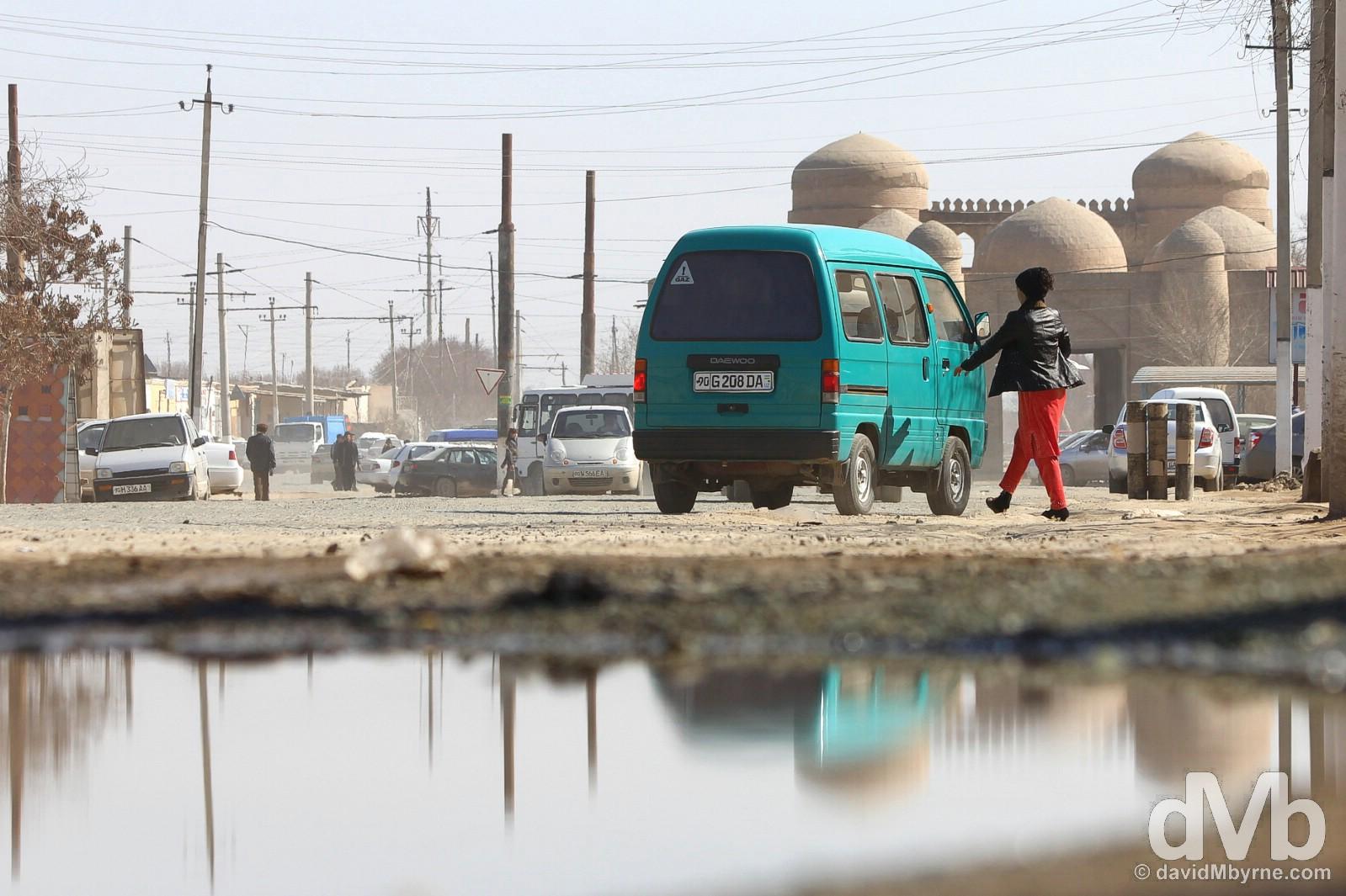 Khiva, Uzbekistan. March 14, 2015.