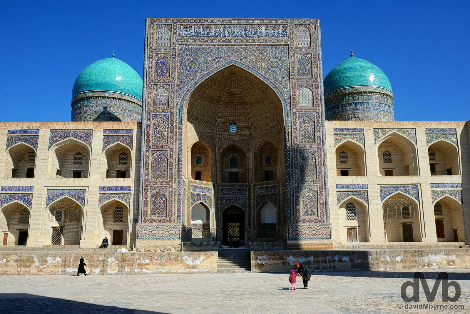 Mir-i-Arab Medressa, Bukhara, Uzbekistan. March 12, 2015.