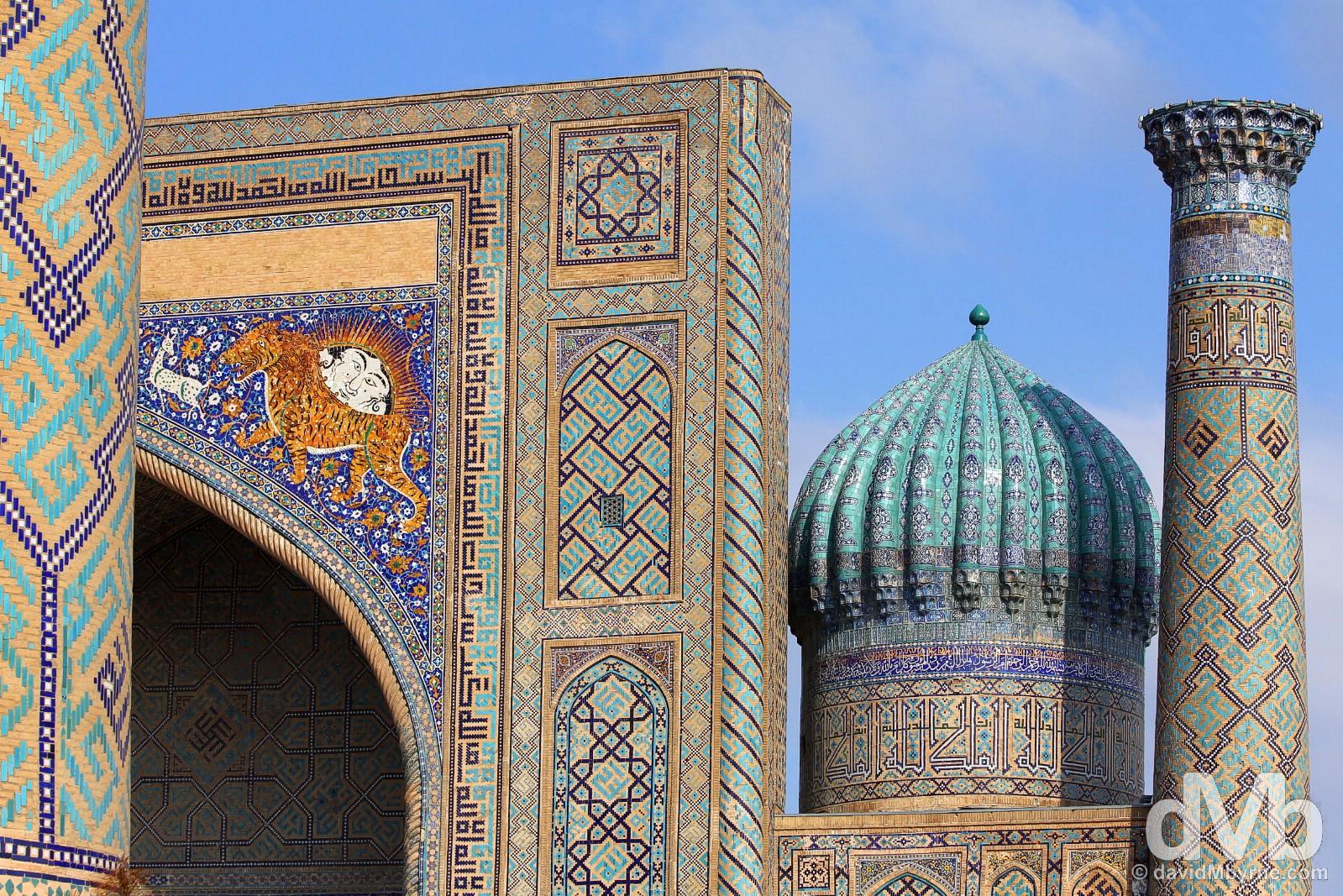 The Registan, Samarkand, Uzbekistan. March 8, 2015.