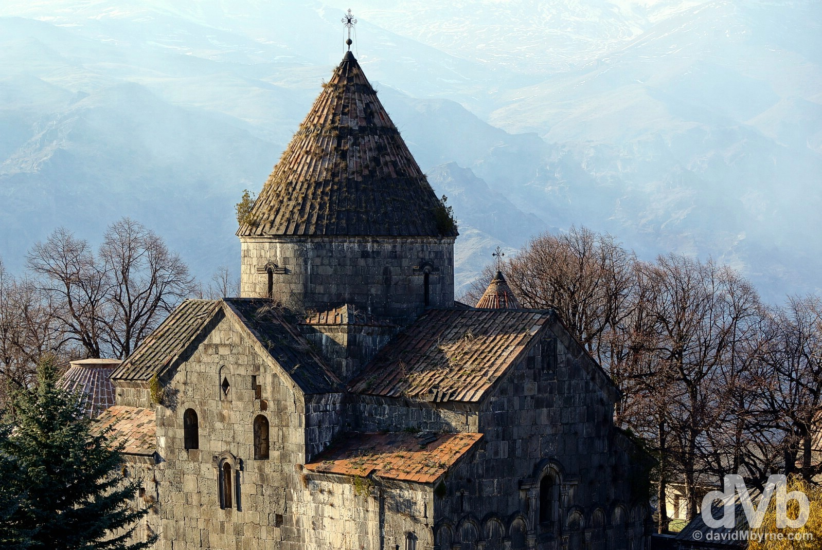 The UNESCO-listed Sanahin Monastery in Lori Marz, Armenia. March 26, 2015.