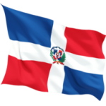 dominican_republic_fluttering_flag_256