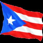 puerto_rico_fluttering_flag_256