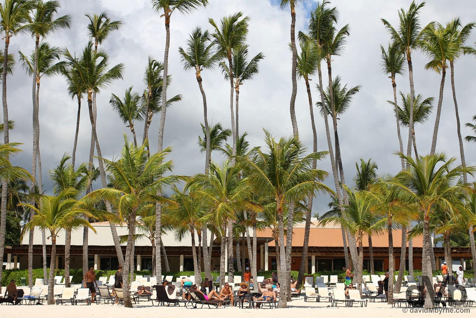 Bavaro Beach, Punta Cana, Dominican Republic. May 28, 2015.