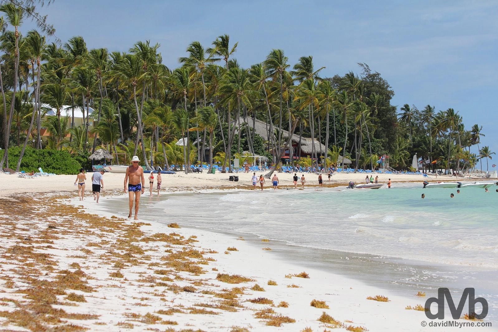 Playa El Cortecito, Punta Cana, Dominican Republic. May 28. 2015.