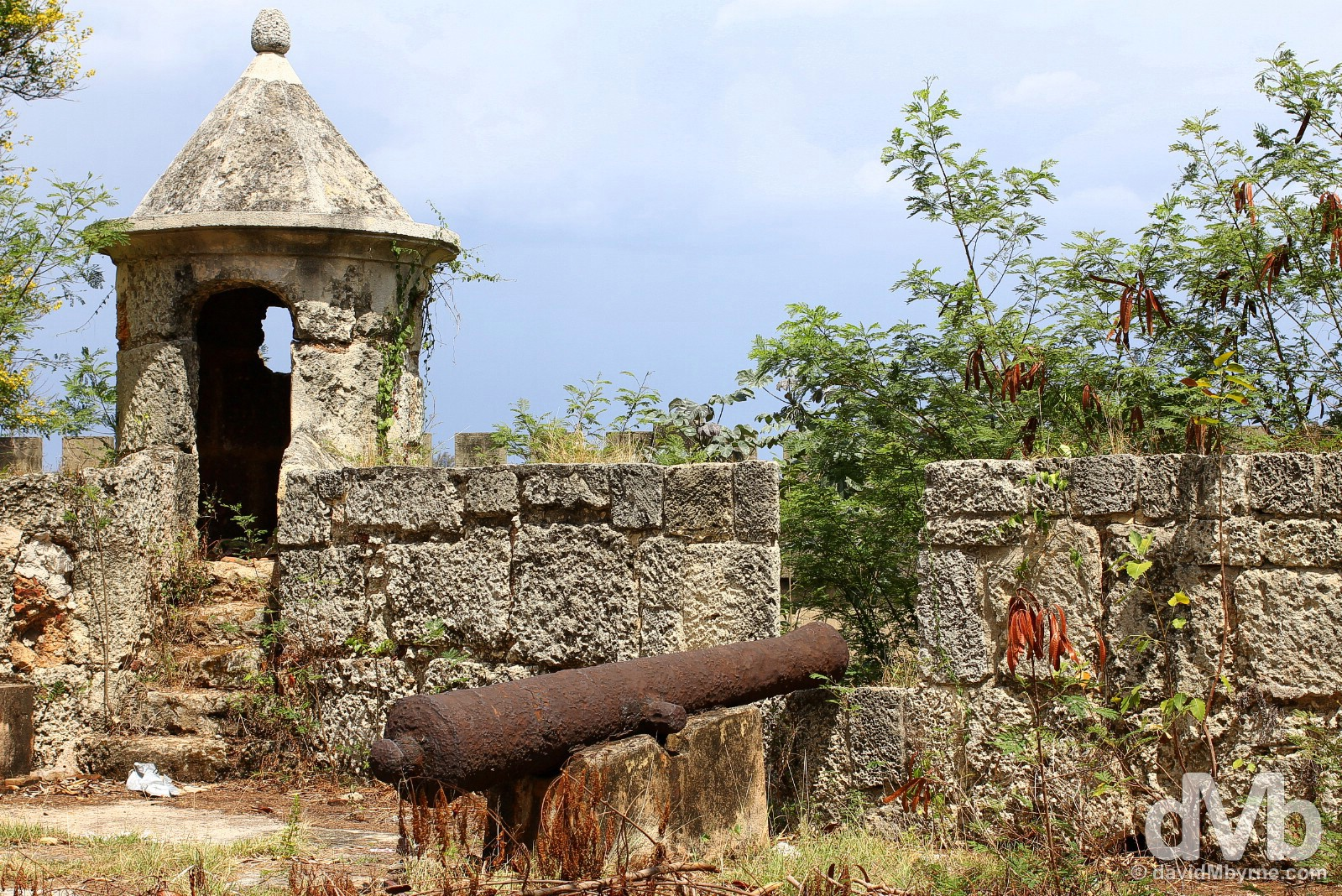Fortaleza Ozama (Ozama Fortress) in Santo Domingo, Dominican Republic. May 26, 2015.