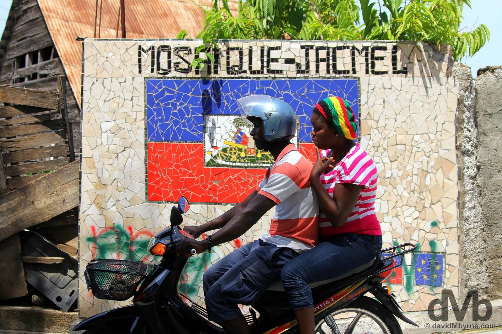 Jacmel, Haiti. May 20 2015.