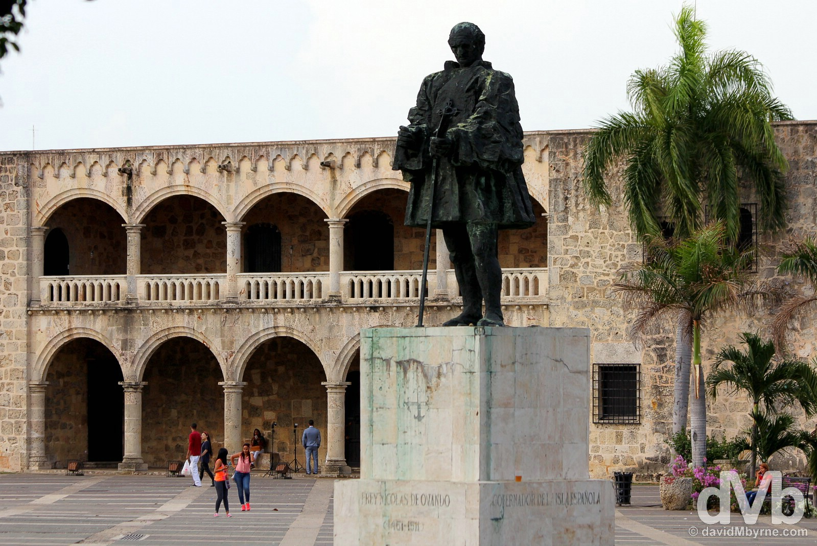 Plaza Espana, Santo Domingo, Dominican Republic.May 24, 2015.