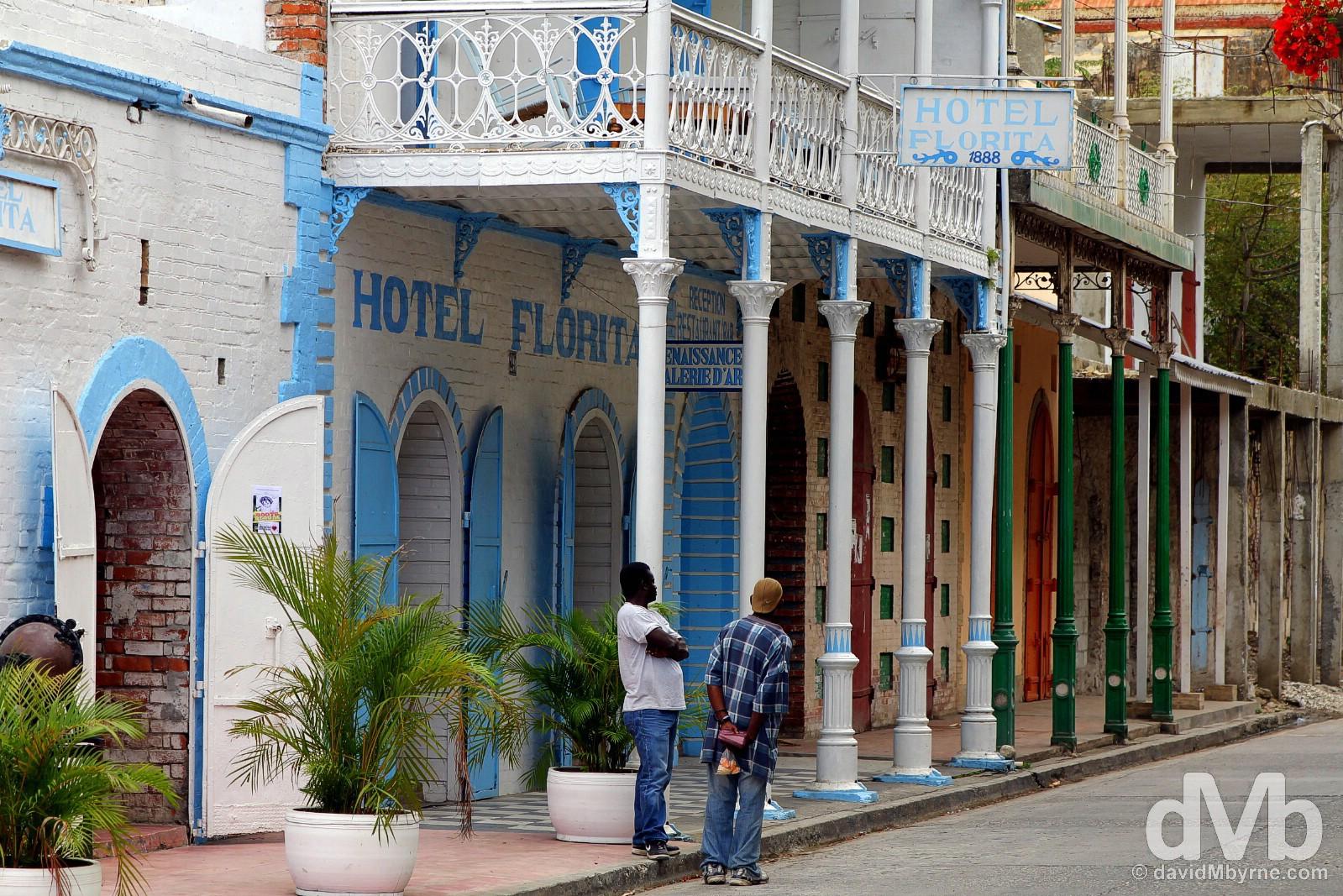 Rue de Commerce, Jacmel, Haiti. May 19, 2015.
