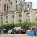 The ruins of Cathedral of Our Lady of the Assumption in Port-au-Prince, Haiti. May 17, 2015.