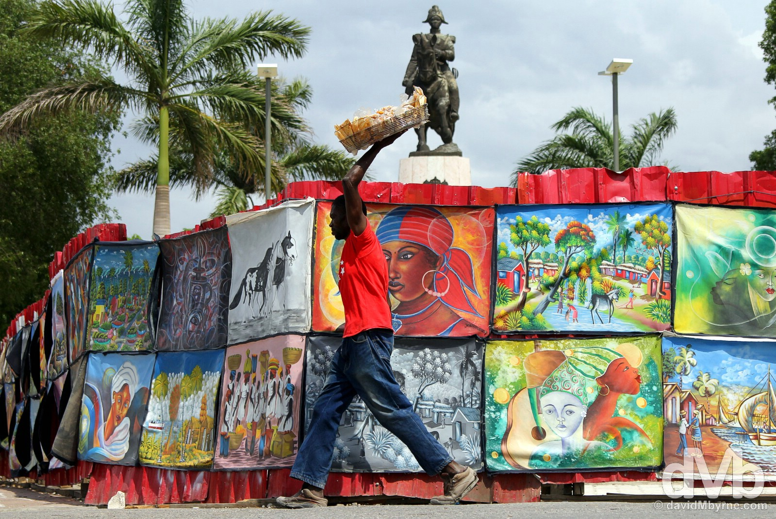 Champs de Mars, Port-au-Prince, Haiti. May 17, 2015.