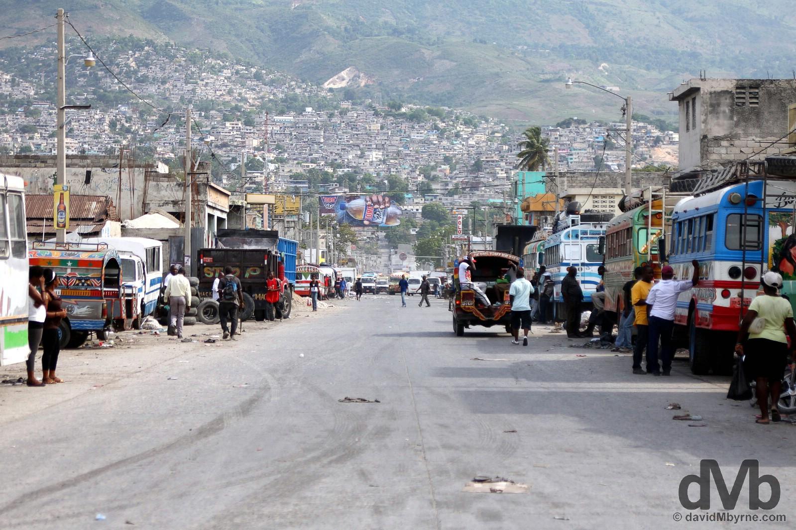 Port-au-Prince, Haiti. May 17, 2015.