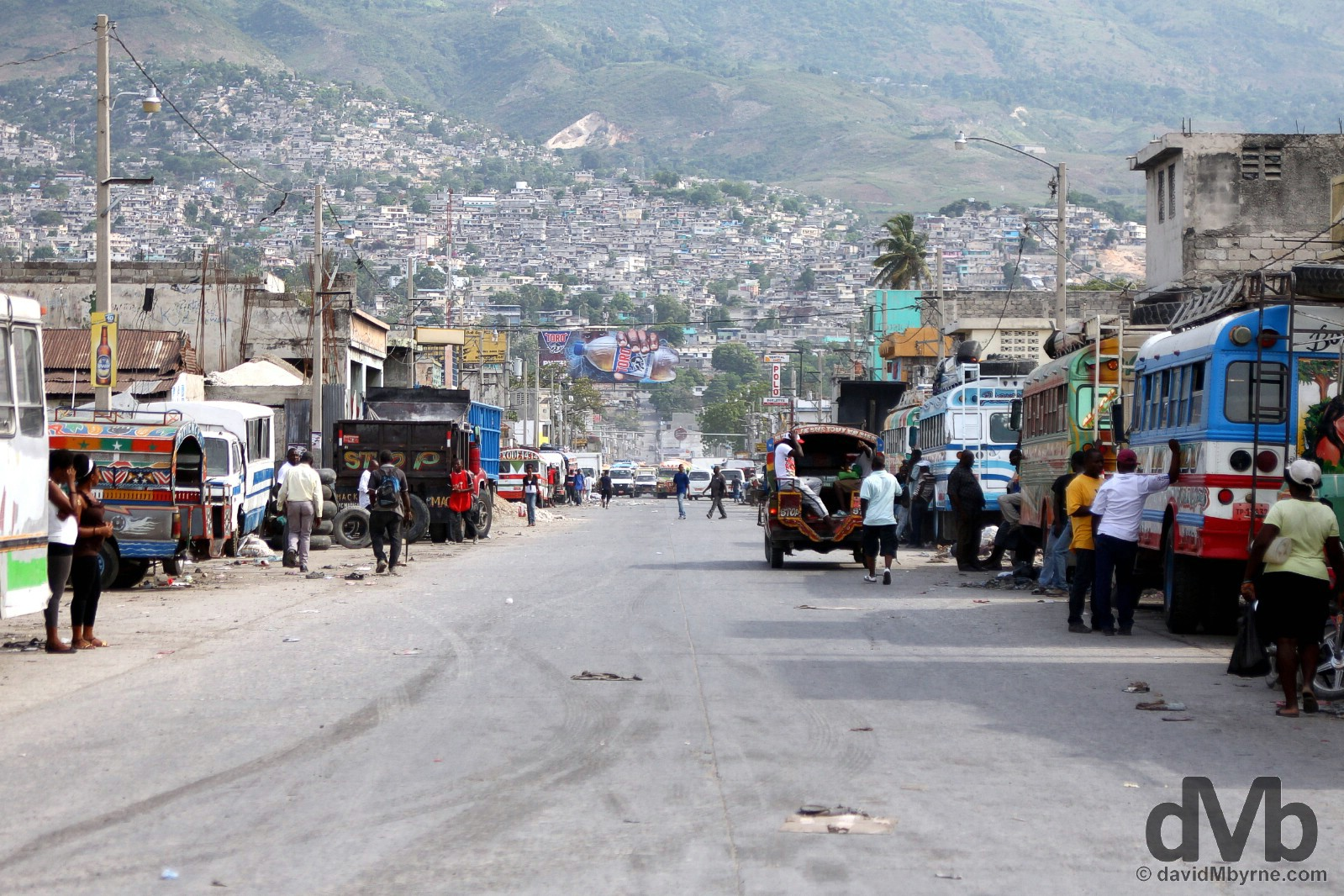 Port-au-Prince, Haiti. May 17, 2015.