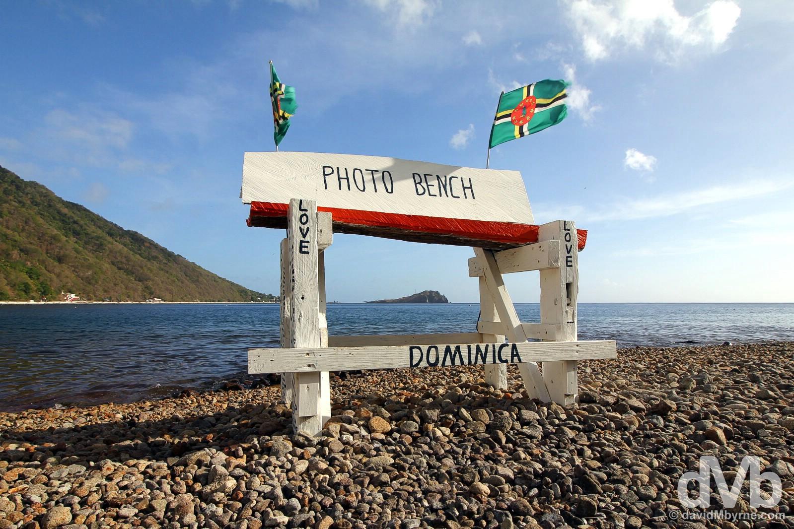 Bubble Beach, Soufriere, Dominica. June 11, 2015.