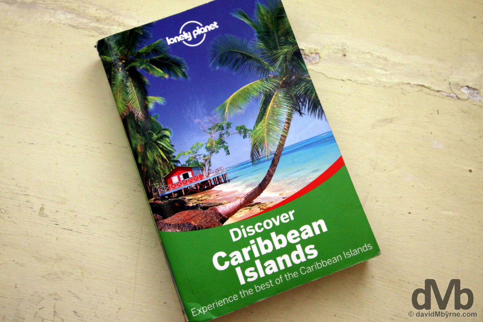 The Caribbean was great, not that this had anything to do with it. Lonely Planet's Discover Caribbean Islands. The worst Lonely Planet publication I've yet used. It wasn't long after I started my jaunt through the region that this was resigned to the bottom of my backpack, where it stayed until it reappeared for this picture. I could have done without its weight & certainly could have done without it's next-to-useless content.