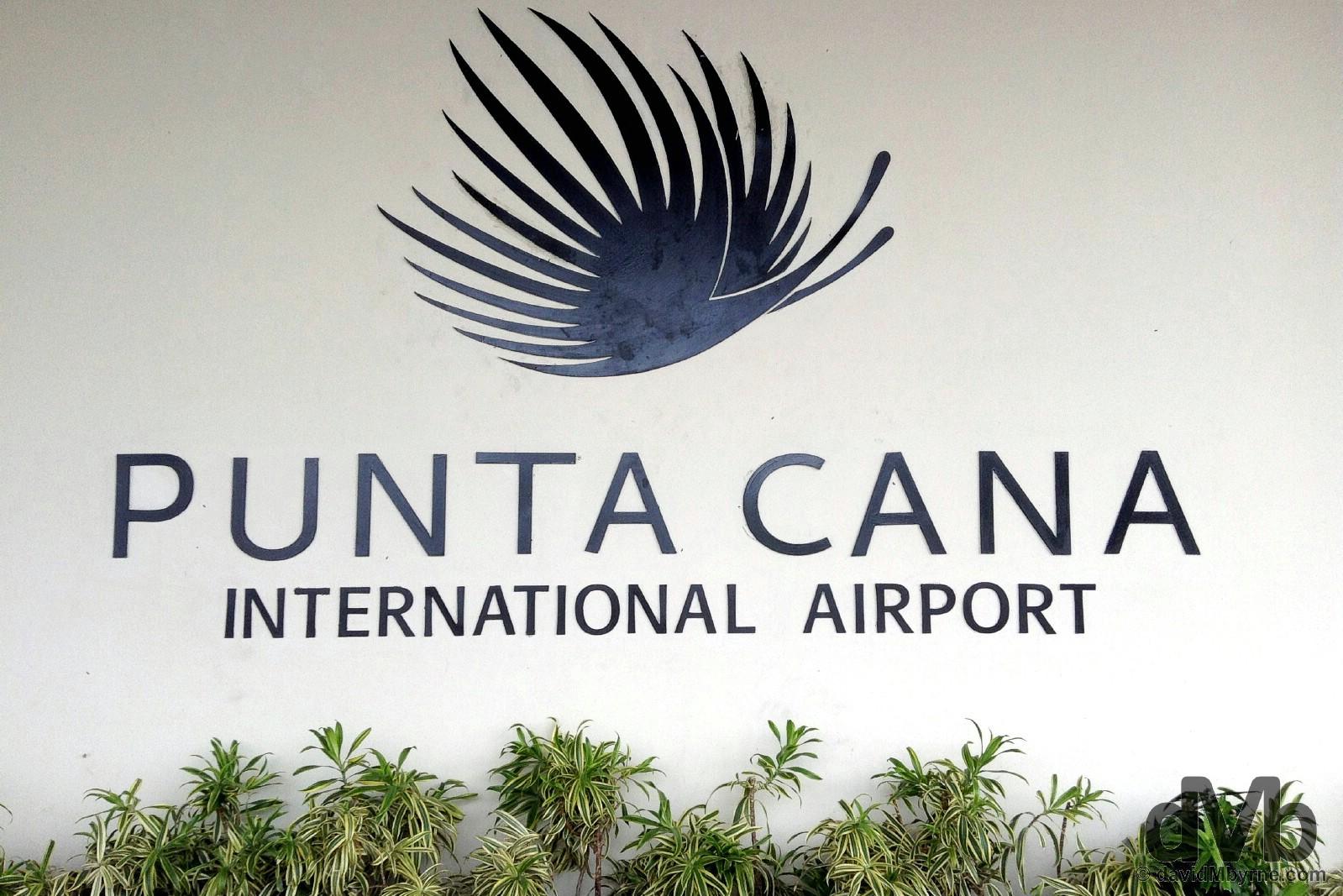 Punta Cana International Airport, Dominican Republic. May 29, 2015.