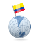 colombia_earth_with_flag_pin_256