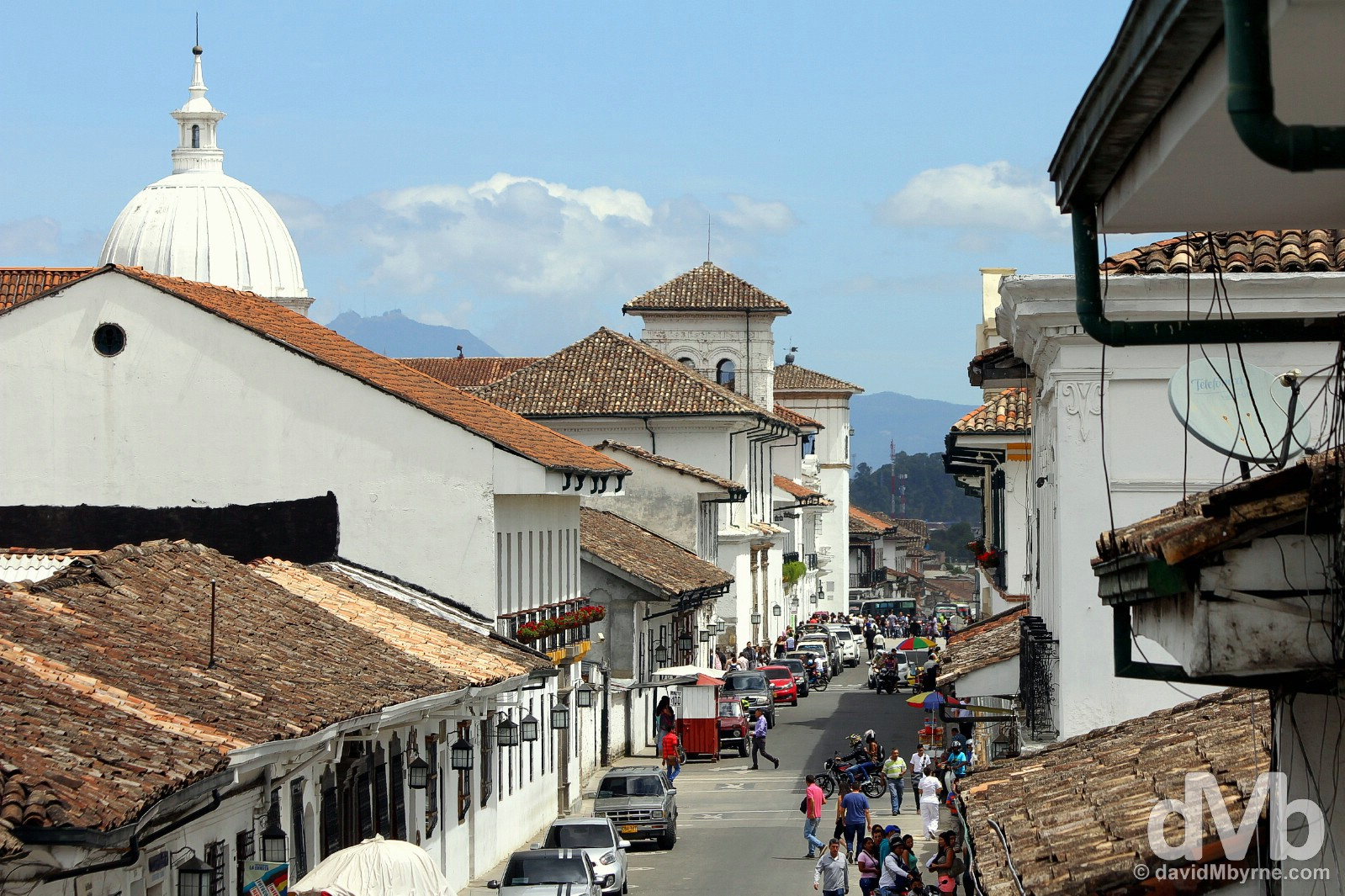 Calle 5, Popayan, Colombia. June 30, 2015.