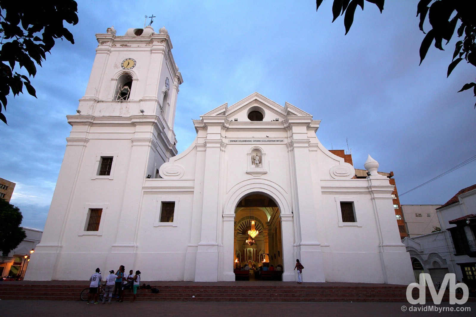 Cathedral, Santa Marta, Colombia. June 23, 2015.